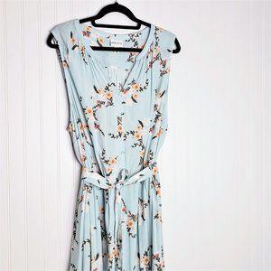 Gorgeous Ava & Viv Light Blue Floral Dress